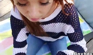 Innocent redhead teen enjoys good cock Kaylee Haze 3 41