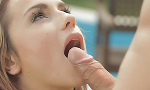 Sensual Leyla Black and her lover delight each other with their mouths before indulging surrounding an out fuck fest