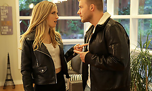 Karla Kush and her beau roleplay from their favorite film to create a steamy sexual fantasy yon lots of pussy pounding