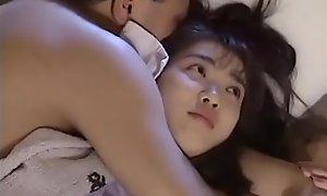Titillating Japanese teen shagging