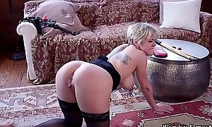 Teen gets anal sex detach from dom mom