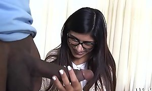 Teen arab prick-teaser is surely satisfied