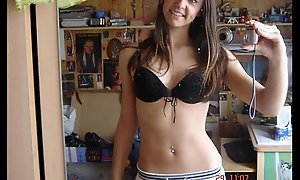 Hot German Brunette Teen Diet Selfshots
