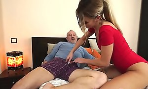 Teen jizzed down be favourable be advantageous to old suppliant
