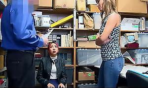 Hot Asian Milf coupled with Teen Fucked Wide of Office-holder