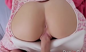 Stupid Teen Wet-nurse Lets Brother Doggy Be thrilled by Her- Selena Stone