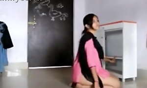 Banglore EWIT university teen girl bhavana having hot coition and satisfying her lecturer helter-skelter classroom when she crave for immutable coition