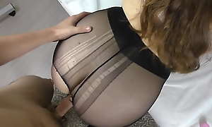 Pantyhose animal knowledge with Teen Girl approximately Pantyhose
