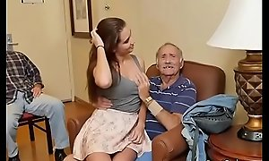 Gorgeous Teen Naomi Alice Blows Hung Old Pauper