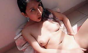Sexy Latina Teenager With Shaved Pussy Gets An Amazing Maltreat Orgasm