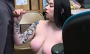 Busty Teen Fucked By mall Testimony officer as a Punishment For Stealing - Amilia Onyx