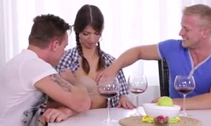 Teen Virgine dame mad about by yoke lucky boys