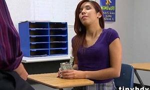 Hottest  teen pussy Leah Cortez 91