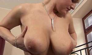 Young cutie Sweety gets chunky tits cummed