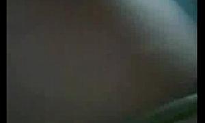 Teen stripping overhead webcam
