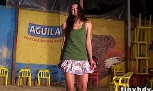 Positive latina teen Karen Tovar 33