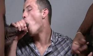 BlacksOnBoys - Nasty sexy boys fuck young white sexy gay guys 23