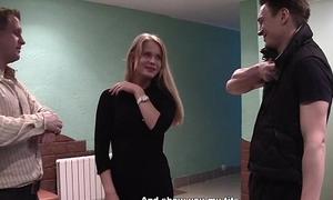 Sexy code of practice teacher gets stark naked for money scene 3