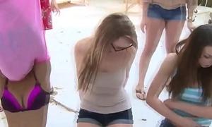 Teen sluts get fingered