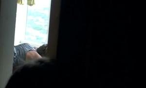 Voyeur snoop cam caught young teen truss bonking hard 22
