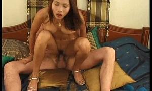 Asian Masturbation Turns To Sex