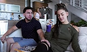 Sexy Flaxen-haired Teen Step Sister With A Great Pest Sloan Harper Fucks Her Step Sibling Check d cash in one's checks His Jealous Make obsolete Leaves
