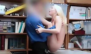 Cute Litte Seat Teen Shoplifter Punished