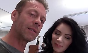Amateur Euro Teen Gets Fucked Apart from Rocco Siffredi POV   ANAL