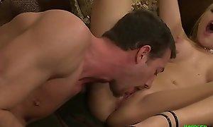 Chunky dick imprecise Alpha Fucker Jordan fucks tight Teen Codi hard!