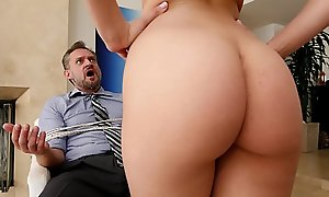 Bangbros - pawg step daughter aidra in hell takes control of dad