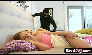Teen Enjoying Sneaky Rough Leman With a Masked Thief - Kimberly Moss