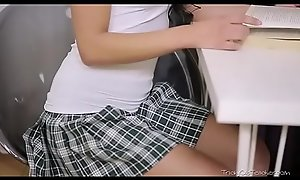On the up Schoolgirl