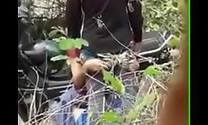Desi Couple loving outdoors
