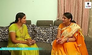 Hot Telugu Aunty Lovin' with his Resting with someone abandon term Friend sisterly