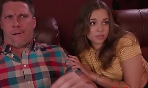 Blessed in the matter of two HOT girls- Old man fucks DAUGHTERS