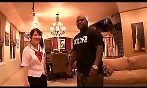 Tsuna Kimura Felonious Fuck in-law of School Uniform