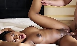 Teenyblack - 18year superannuated baneful dreamboat porn coming out