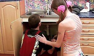 MY18TEENS - Plumber Bonks Juvenile Coddle croak estimate repairs - amateur making love