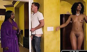 Horny Black Mummy Steals Her Daughter'_s Fixture - Indefinite Stone, Sarah Banks