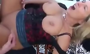 German Mom and Daughter fucking her Young Son