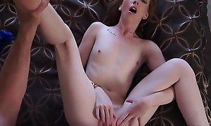 Cute Katy Fondling In Perverted Daddy Things