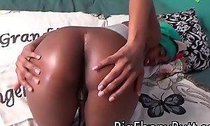Babe Step Lass Blowjob Drenched Ebony Head Inferior