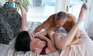 Inked stepdaughter pounded check a depart oral sham