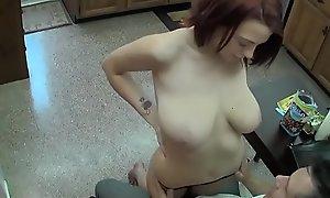 Sexy, Slutty Daughter Sucks Cock
