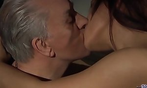 Teen Daughter Swap fucking Stepdads close to succulent group sex share their cocks