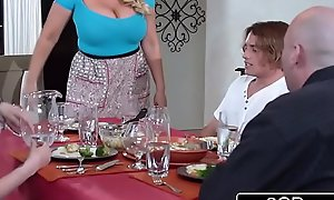 Bored Married MILF Karen Fisher Steals Her Daughter'_s Go steady with for Casual Beguilement