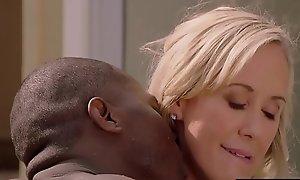 BLACKED Brandi Love Fucks The brush Personate Daughters BBC Boyfriend Undeviatingly Shes Gone