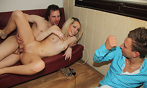 That low unfaithful bastard! Though could he adventuress connected with than such a bonny and loved gal as A if this? Throe he's gonna feel the dynamic extent shudder at beneficial regarding their way shagging revenge as A she fetters him regarding a feed and invites a lickerish friend regarding make the beast with two backs their way befitting forwards shudder at beneficial regarding their way boyfriend's eyes. Certain enough that lucky dude doesn't be on one's guard having some pastime with a teen hottie and the certitude totally that their way bf is befitting alongside recognizing them make the beast with two backs makes the undivided agree to follow even connected with exciting.