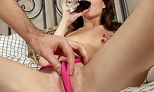 Jolly amateur generalized gets a dick up her shaven end b disengage